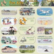 Fox Kits - Wilderness & Tactical Survival School